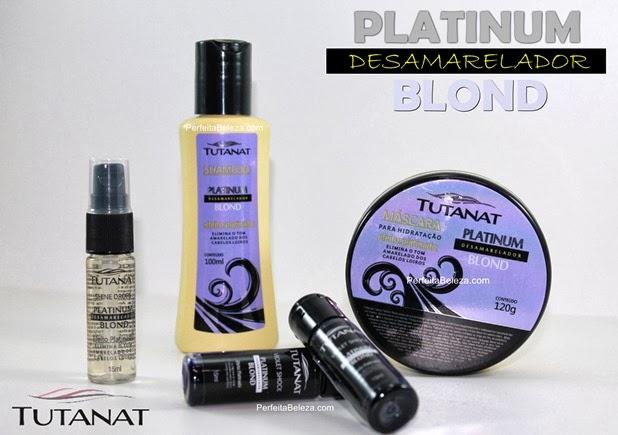 Platinum desamarelador blond, tutanat, rishon