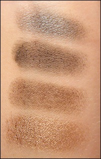 Urban Decay Naked Palette Swatch