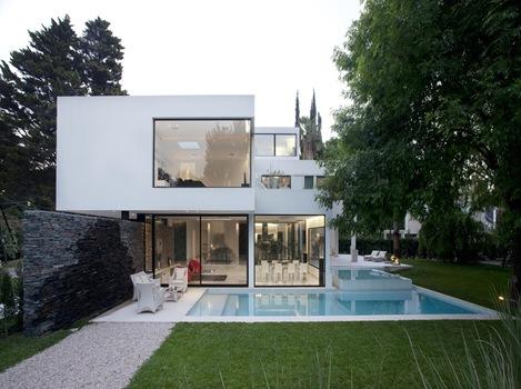 Arquitectura minimalista andres remy arquitexs for Proyectos casas minimalistas
