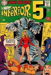 Actualización 23/03/2015: Inferior Five - tradumaquetado con sus propias manos, martinchoginer nos trae un nuevo número: Inferior Five #9.