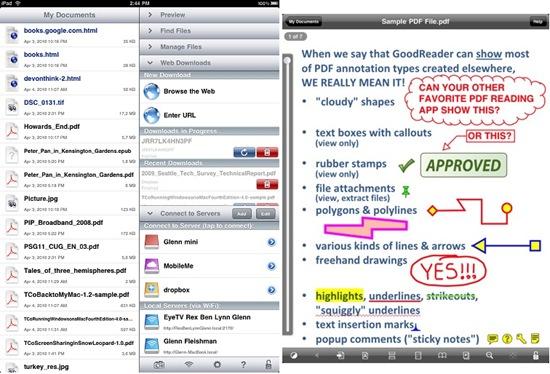 GoodReader for iPad3