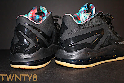 nike lebron 11 low gr black hyper crimson 3 10 Detailed Look at the Nike LeBron 11 Low Neutral