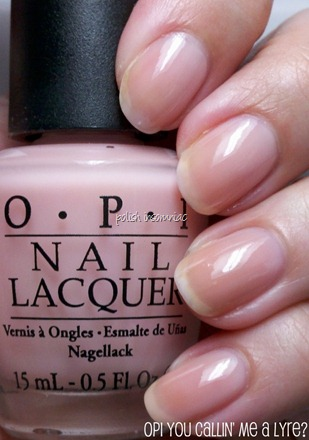 OPI You Callin' Me A Lyre
