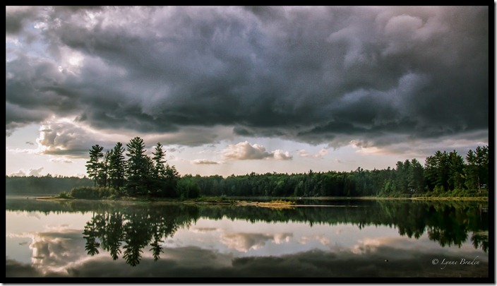 Storm over Imp Lake
