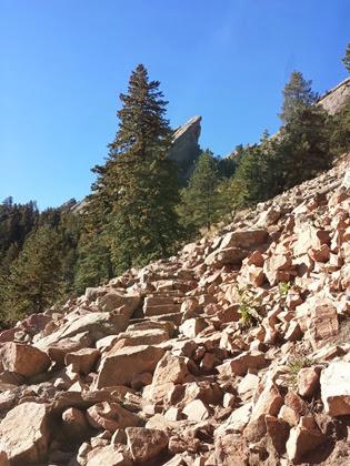 A rocky trail