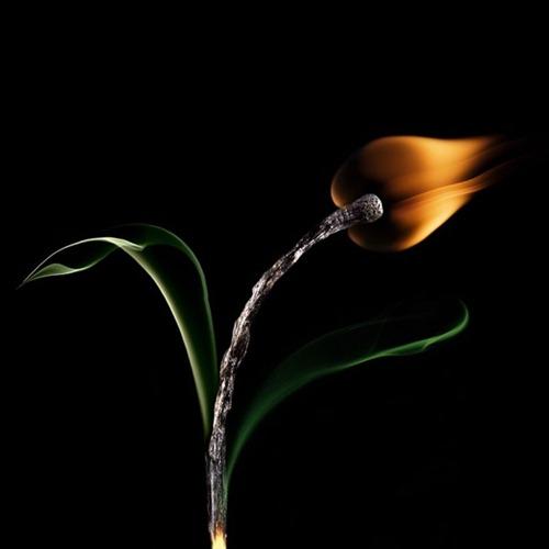 Arte russa com fogo 07