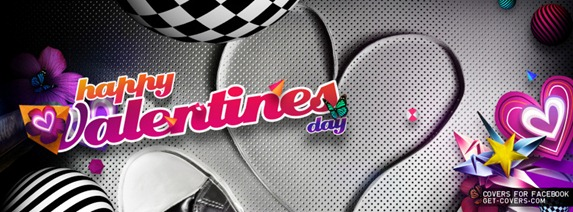 facebook cover Valentine day