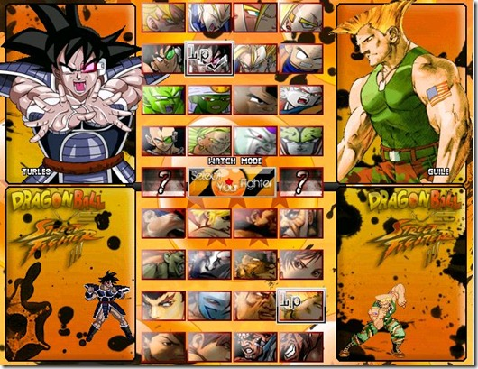 Dragonball vs Street Fighter 3 fan game pic6