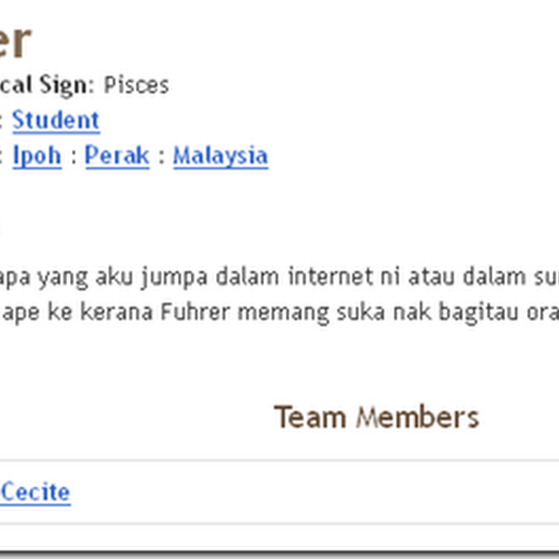 Blogger Pilihan : #1