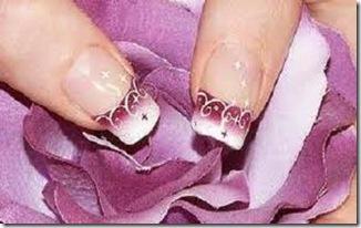 el arte de pintar las uñas decoracion sencilla