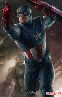 Captain America Avengers สรุปข่าวรอบสัปดาห์ ภาพยนตร์ The Avengers [24-July-2011]