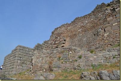Pergamon Hellenic and Bzyantine Walls