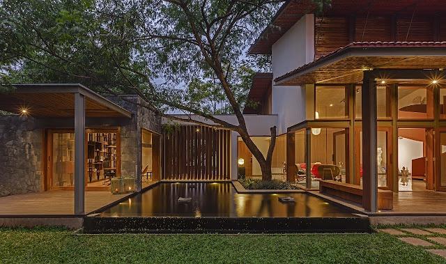 nhà mát mẻ Krishnan House