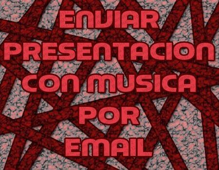 enviar presentacion powerpoint con musica por email - img principal