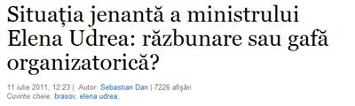 Situaţia jenantă a ministrului Elena Udrea_ răzbunare sau gafă organizatorică__11_07_2011507