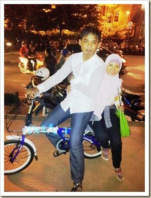 Bersepeda Malam Minggu di Simpang Lima 1