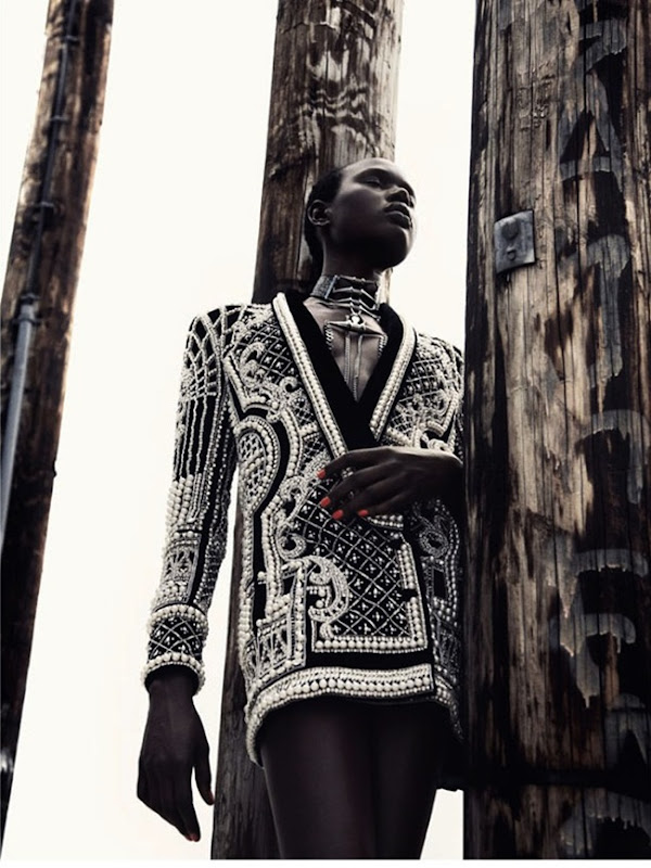 ajak deng in my jacket