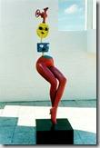 Miro sculpture