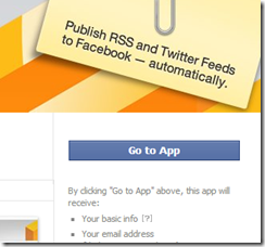 Publish articles automatically to facebook