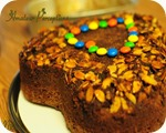 Chocolate Almond Upside Down Cake 6