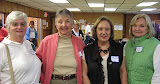 Oct. 15 tie: Barbara Lowenstein, Jean Yawger, Brenda Flaks, Joan Vrba