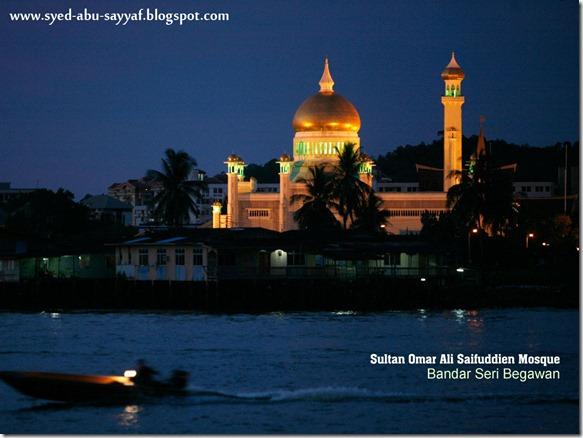Masjid Sultan Omar Ali Saifuddien – Bandar Seri Begawan, Brunei
