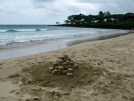 Castelos de areia geometricos (7)