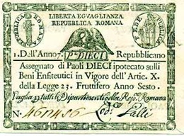 Assegnato Repubblica Romana paoli 10