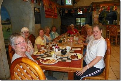 Sue, Sheila, Diane, Alice, Taima, Kay, Onalee, Eileen, LaVon