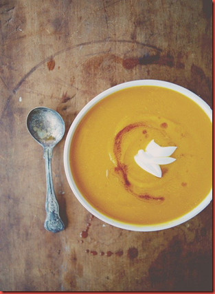 Brown Butter Butternut Squash Soup