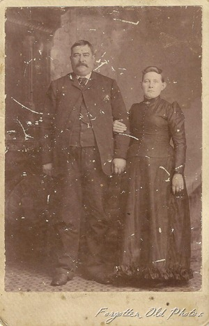 Cabinet Card Solway Uncle John and H Von Koch