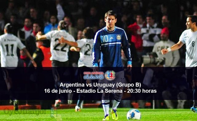 Argentina vs Uruguay - 16 de junio - Grupo B