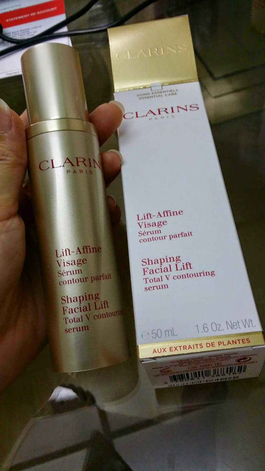 Clarins Shaping Facial Lift Total V Contouring Serum New Version 10 10ml The Formula Affine Visage For A Distinctive