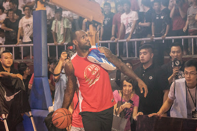 other event 140724 lebron rise tour asia 1 14 LeBron James Sneaker Rotation During 2014 Rise Tour in Asia