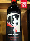 Dogs were everywhere!  Even on favored wines in the stores! The shopkeeper even knew this dog personally!