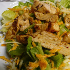 Easiest Chicken Fajita Salad