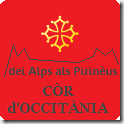 còrs d'Occitània dei Alps als Pirinèus