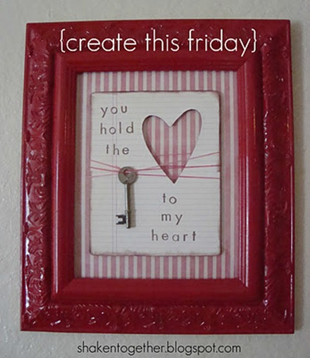 key to my heart valentines art create this BLOG