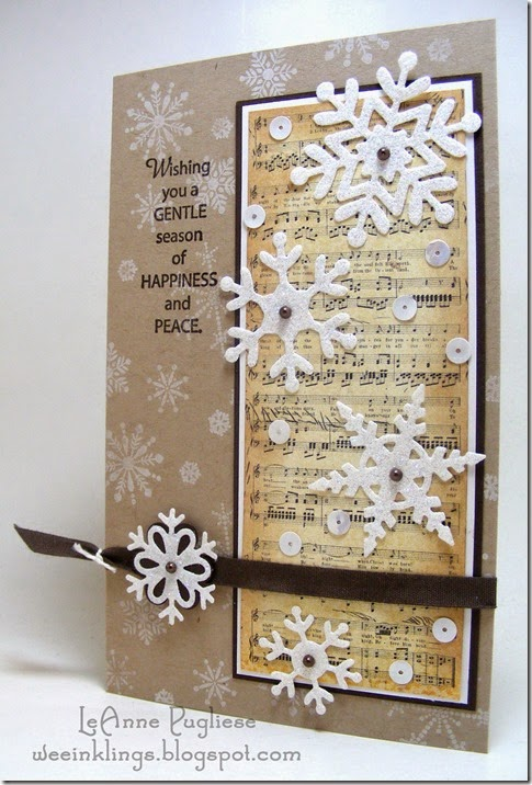 LeAnne Pugliese WeeInklings Gentle Season Christmas Stampin Up