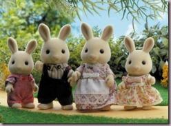 Buttermilk rabbit family