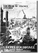 affiche la cité foudroyée1925