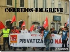 Greve dos CTT- contra privatização. Out.2013