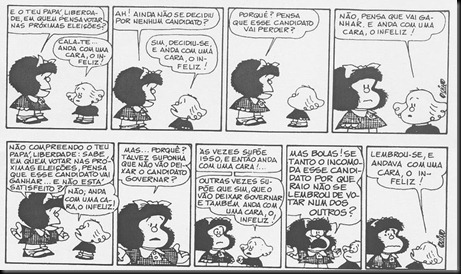 MAfalda e eleicoes