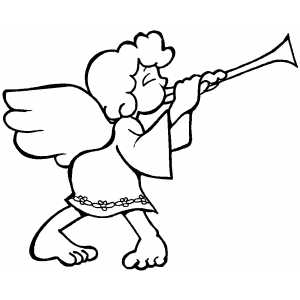 Little Angel Coloring Pages