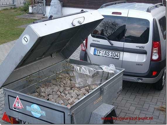 Dacia Logan MCV met Bagagewagen 02