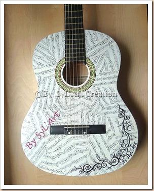 Guitare custo