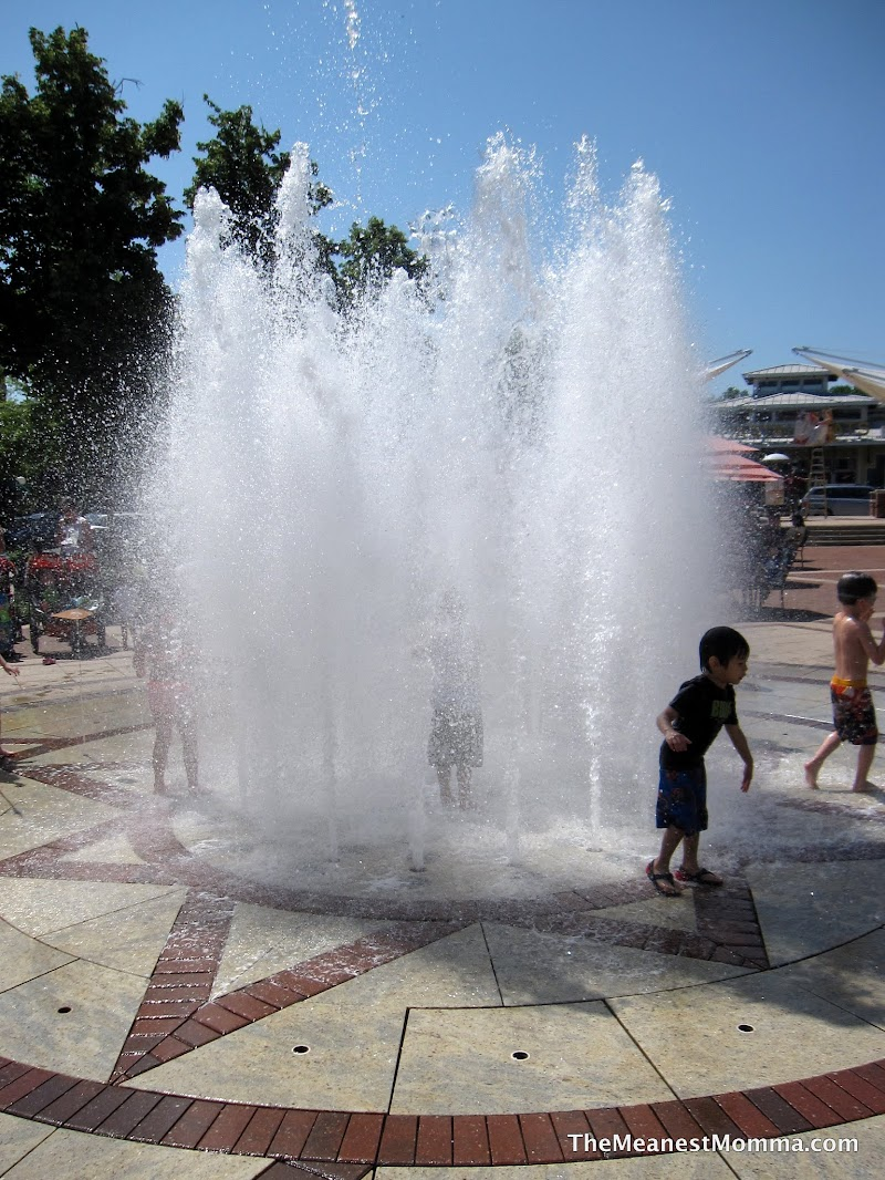 Water fountains virginia - Eventually The Fountain Does Work Up To A Pretty Powerful Spray