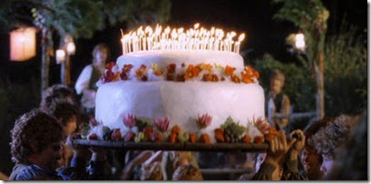 Bilbo's Birthday Cake