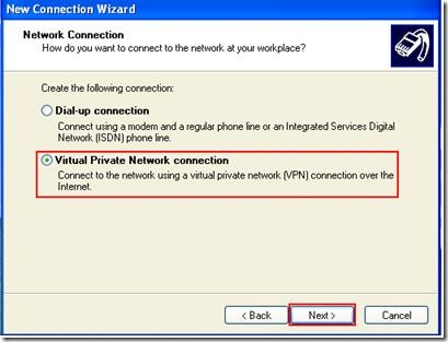virtual-private-network-connection