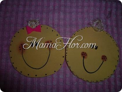Caritas Felices - Manualidades MamaFlor